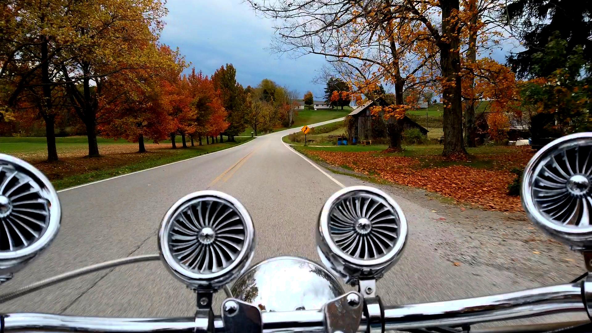 Biking Through Belmont County, Ohio