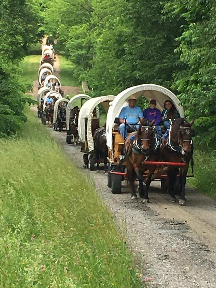 Nat. Pike Wagon Train