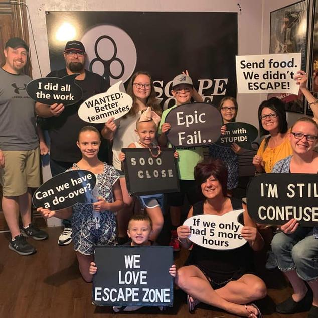 Escape Zone Ohio