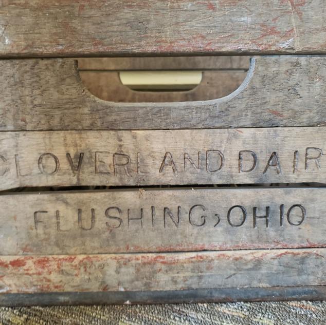 Cloverland Dairy Crate