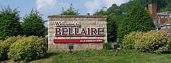 Bellaire Welcome Sign