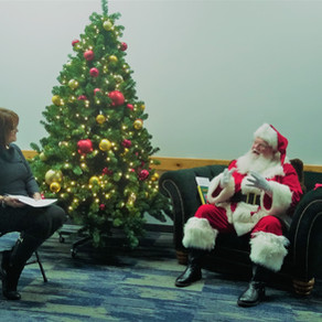 Behind the Scenes:                  An Interview With Santa Claus