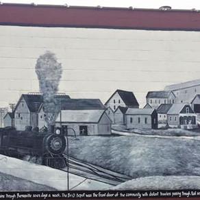 Murals tell Barnesville's history