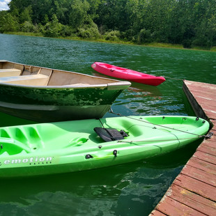 Boats at Zion Retreat