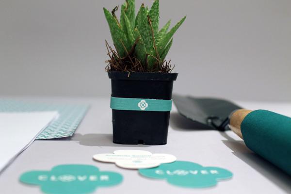 Landscaping branding