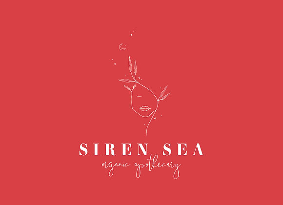Siren Sea Logo Customizable Logo Design