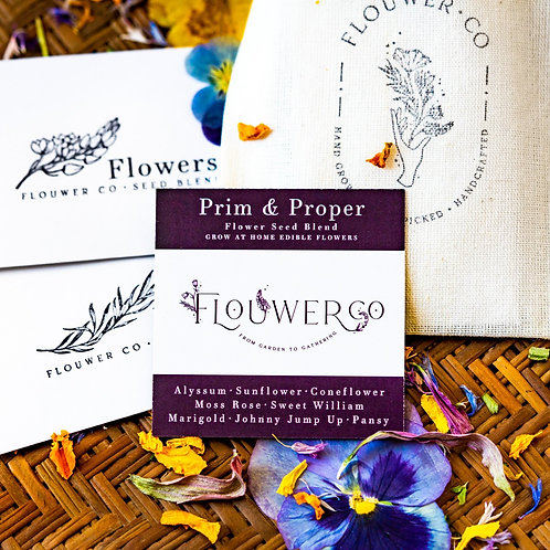 Prim & Proper - Grow at Home Seed Bag