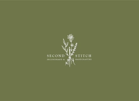 Second Stitch Customizable Logo Design