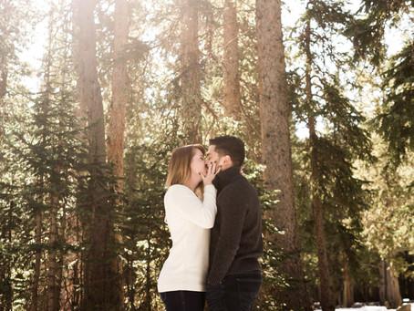 MaryAnn + Alec | Snowy Alpine Lake Anniversary