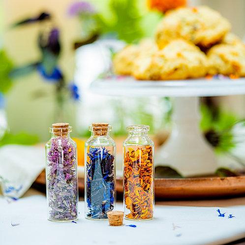 Edible Flower Sprinkles - Savory