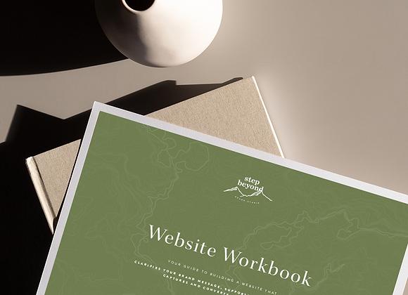 Website Strategy Workbook