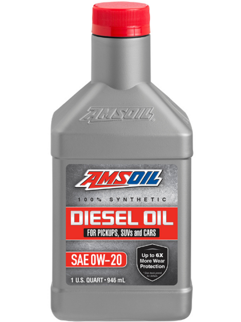 DP020 Synthetic Diesel Oil SAE 0W-20 Qt.