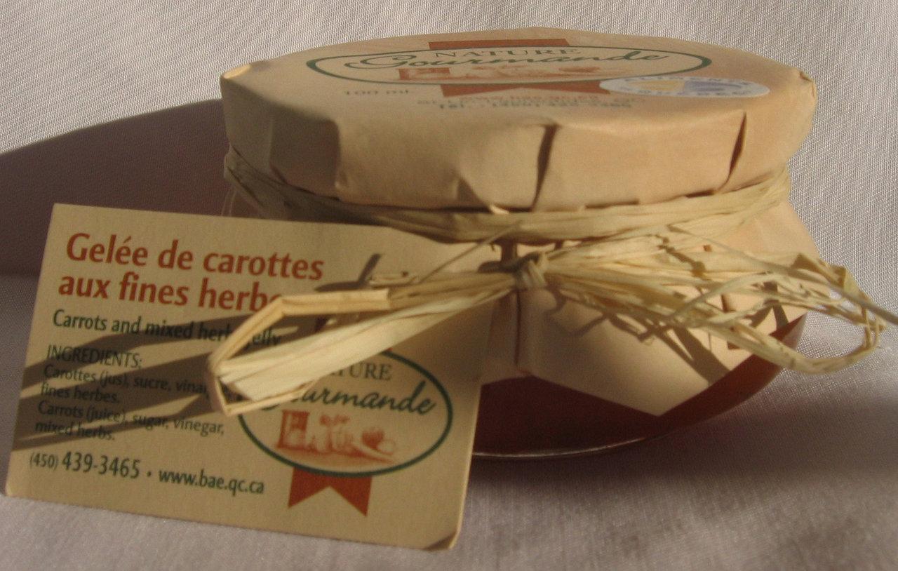 Gelée CAROTTE AUX FINES HERBES