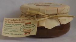 Marmelade CITROUILLE ET PAMPLEMOUSSE