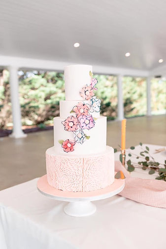 Belle Garden Estate Roanoke Bedford Frankling County Botetourt Rocky Mount Lynchburg Virginia Goode VA wedding cake bakery wedding venue custom wedding cake