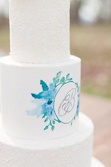 Hand painted monogram wedding cake.jpg