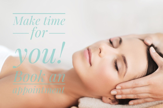 Make time for you! Book an appointment