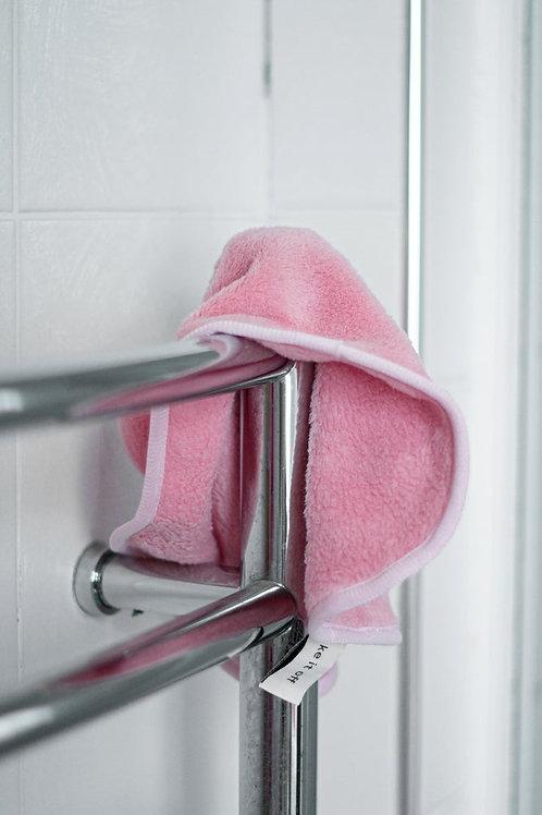 Pink Makeup Removing Towel