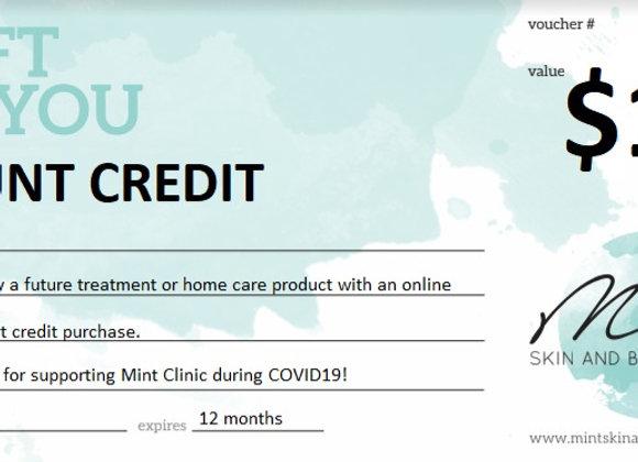 Clinic Credit $100