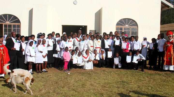 St Conrad Parish Youth Confirmed