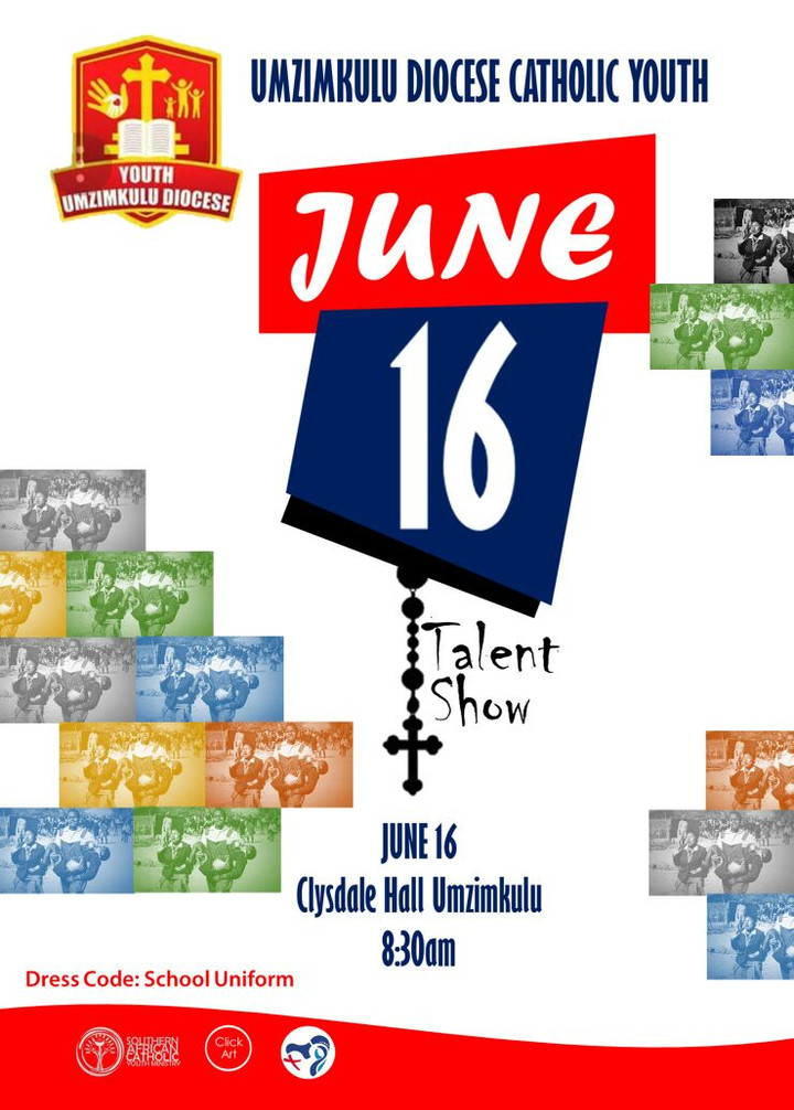 YOUTH DAY - JUNE 16 -at CLYSDALE HALL - CELEBRATION
