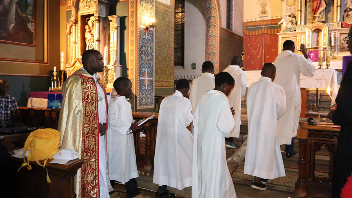 Youth at the Revival - Penitential Service & Blessed Sacrament Adoration