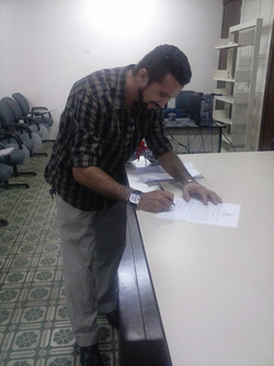 assinatura da Ata