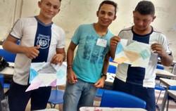 Rafael Quaresma e seus alunos