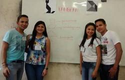 Ação formativa com alunos do PIDID