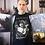 Thumbnail: Camiseta Divino Afflante (Malha preta, Importada e Nacional)