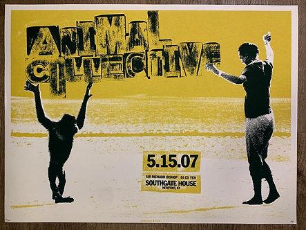 Poster Animal Collective (serigrafia)