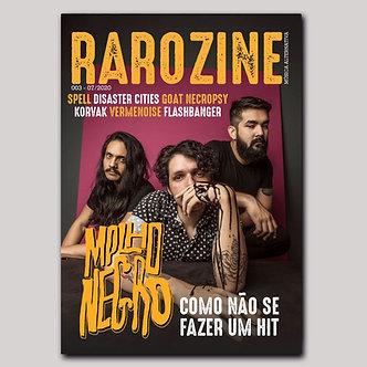 Rarozine Edição #03 Molho Negro