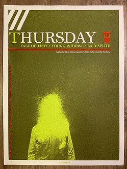 Poster Thursday (serigrafia)