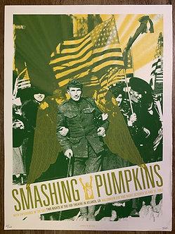 Poster Smashing Pumpkins (serigrafia)