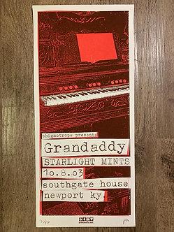 Poster Grandaddy (serigrafia)