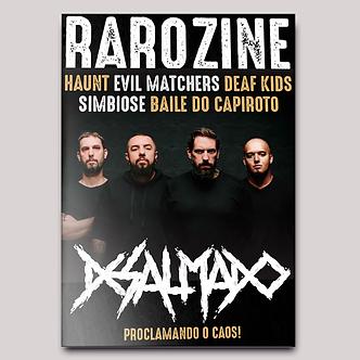 Rarozine Edição #01 Desalmado
