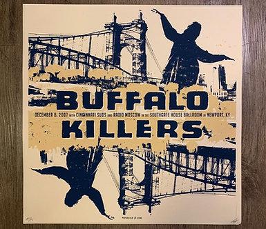 Poster Buffalo Killers (serigrafia)