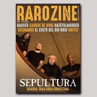 Rarozine Edição #05 Sepultura