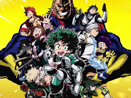 """Amerikietiškų komiksų įtaka """"Boku no Hero Academia"""""""