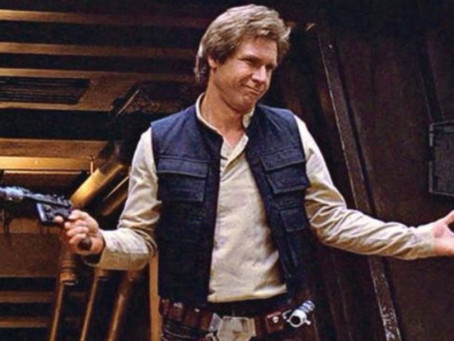 Kanonas fikcijoje arba, ar Hanas Solo šovė pirmas?
