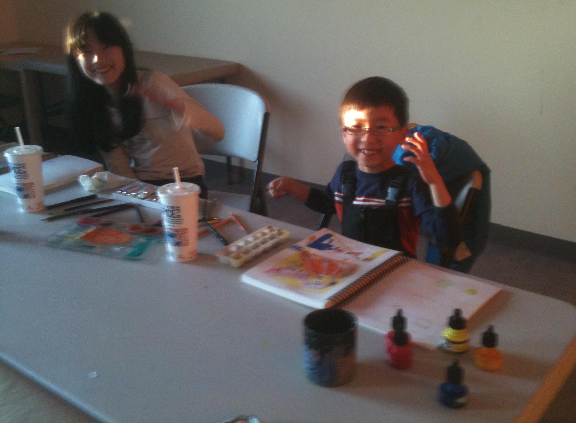 art kids have lots of fun!!!!