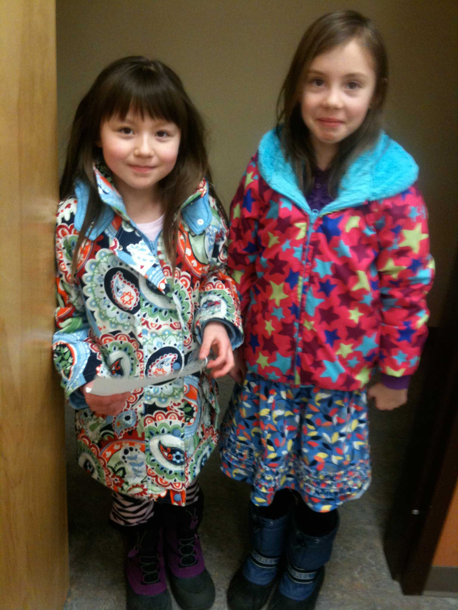 art kids love color and pattern!