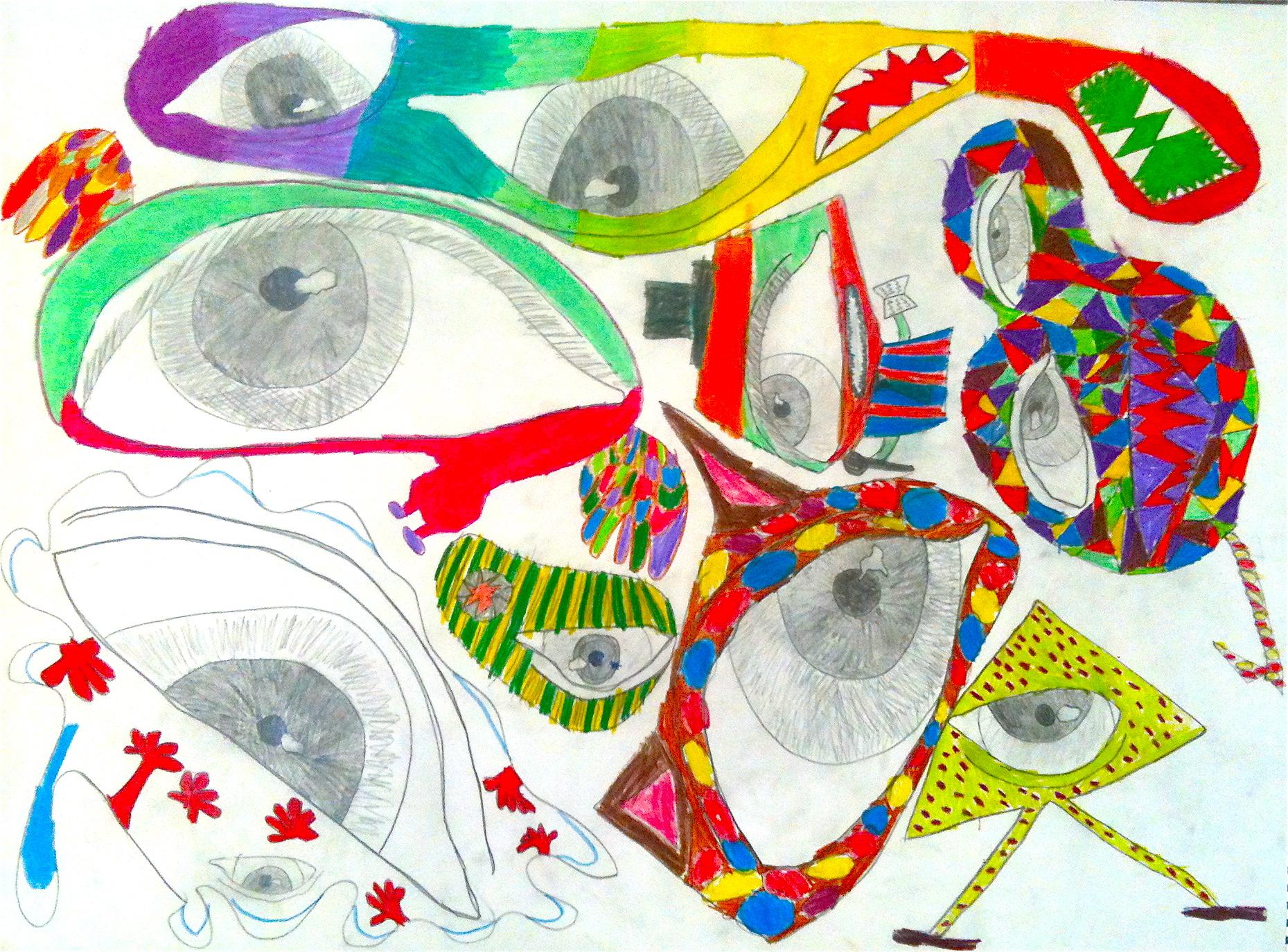Figurative Imagination - Mixed Media