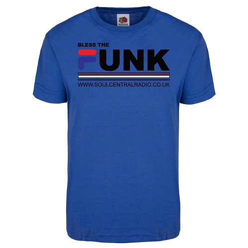Royal blue  Funk Tee (Limited Edition)