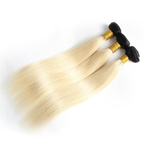 Natural Root Blonde Straight- 613