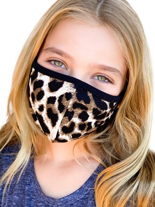 Kids Cheetah Mask