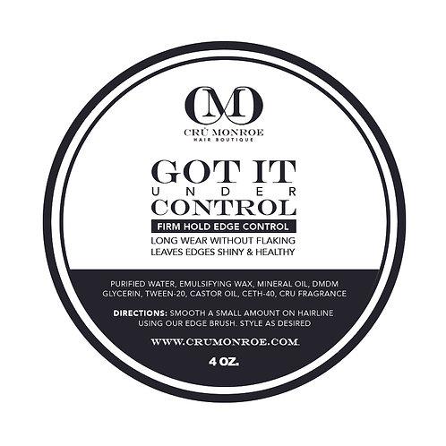 """Got It Under Control"" Edge Control"