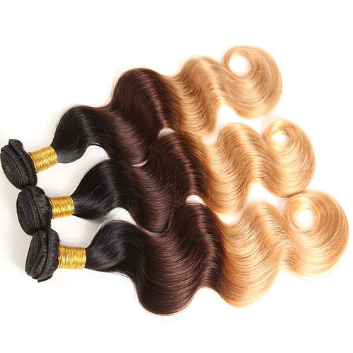 Golden Blonde Ombre Body Wave