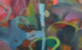 Kolumbien. Acryl auf Leinwand. 110x180cm