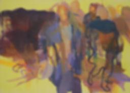 Rudi. Acryl auf Leinwand. 130x180cm. 201